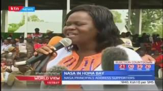 NASA pitches tent in Nyanza as aspirants campaign in Homabay