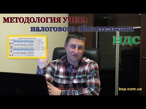 Методология учета налогового обязательства НДС в 1С и проводках