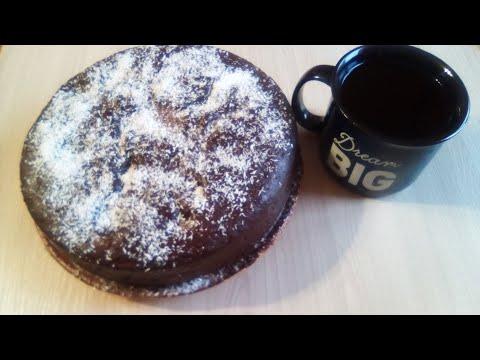 Торт банановый  Праздничный от Луча. केले केक. Banana cake. 香蕉蛋糕
