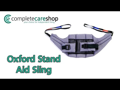 A short film of the Oxford Stand Aid Sling