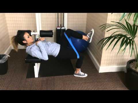 Exercise Demo: Banded Single-Leg Hip Thrust