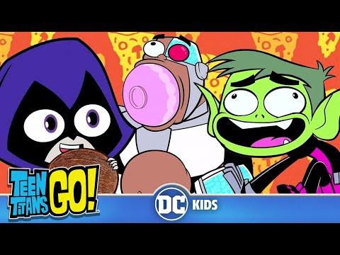 Teen Titans Go! | Fooooooooood! | DC Kids