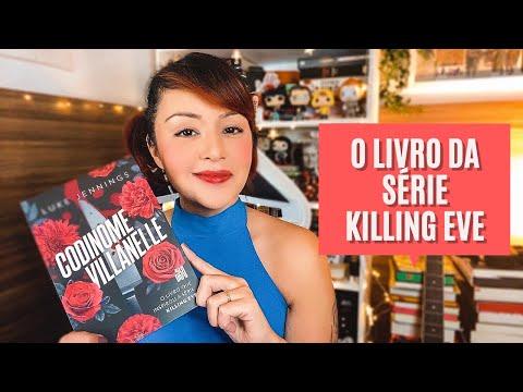 CODINOME VILLANELLE | O livro da série Killing Eve