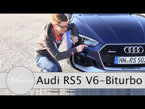2017 Audi RS5 2.9-Liter V6 Biturbo Review / Jetzt ein Gran Turismo (ENGLISH Subtitles) - Autophorie