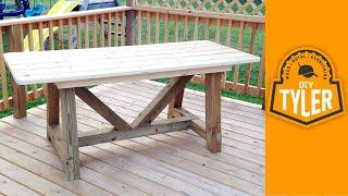 6ft 4x4 Truss Picnic Table