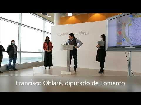 La Diputación de Málaga avanza en el proyecto de circunvalación del centro histórico de Ronda