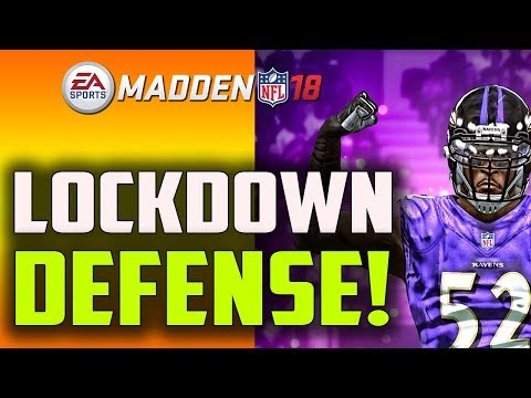 LOCKDOWN YOUR OPPONENT WITH THIS DEFENSE!! MADDEN 18 TIPS
