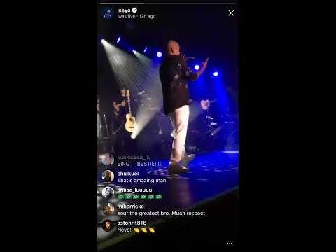 Ne-Yo - Good Man (IG Live)