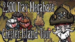 Shipwrecked Megabase - 2500 Day Tour - Chester Island - Don