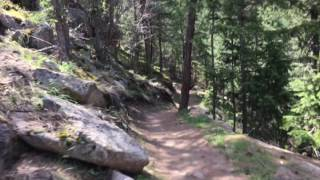 Yeah, maybe my video sucks, but the point is that the trail is fun!