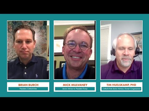 CatholicVote Live with Mick Mulvaney