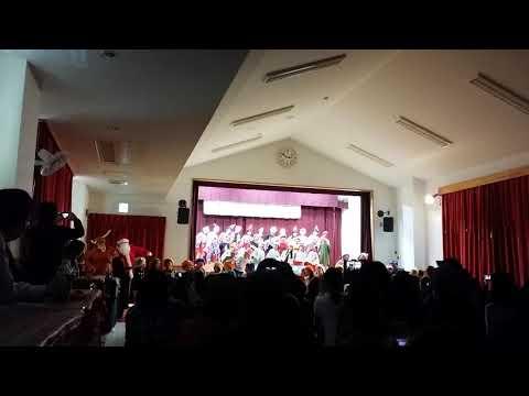 串挽保育園のクリスマス会2017年(2)