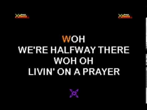 Bon Jovi - Livin' on a prayer KARAOKE