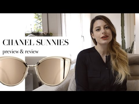 CHANEL 18 carat GOLD SUNGLASSES review and unboxing