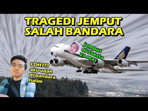 TRAGEDl JEMPUT SALAH BANDARA DAN BELANJA KAIN BUAT WEDDING