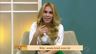 JMD (30/10/19) - Joelma canta sucessos no estúdio do Jornal do Meio Dia