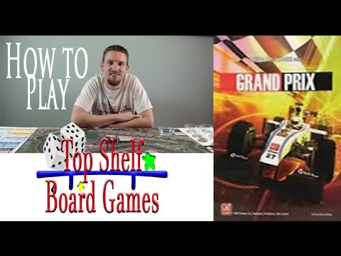 Top Shelf Board Games How to Play Grand Prix