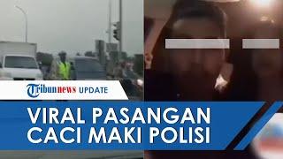 Viral Video Pria dan Wanita Caci Maki Polisi yang Sedang Tugas di Purwakarta, Lihat yang Terjadi