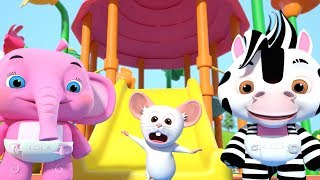 Head Shoulders Knees and Toes   Nursery Rhymes & Action Songs for Kids   Cartoon by Little Treehouse