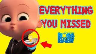 The Boss Baby Easter Eggs | Everything You Missed.