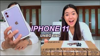 Purple iPhone 11 UNBOXING!