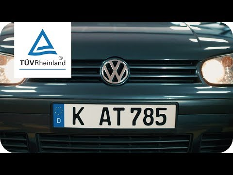 Video 1 TÜV Rheinland Prüfstelle Asbach