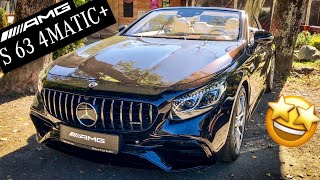 2018 MERCEDES-AMG S 63 4MATIC+ CABRIOLET FULL IN-DEPTH REVIEW Interior Exterior Infotainment