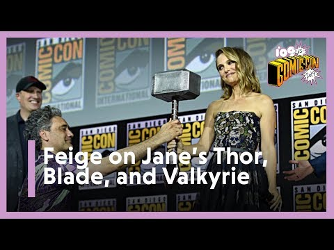 SDCC 2019   Kevin Feige on Blade, Thor 4, and the MCU's First LGBTQ Hero