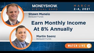 Earn Monthly Income at 8% Annually