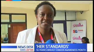 Standard Group PLC is holding Cancer Screening for its staff at company headquarters in Nairobi