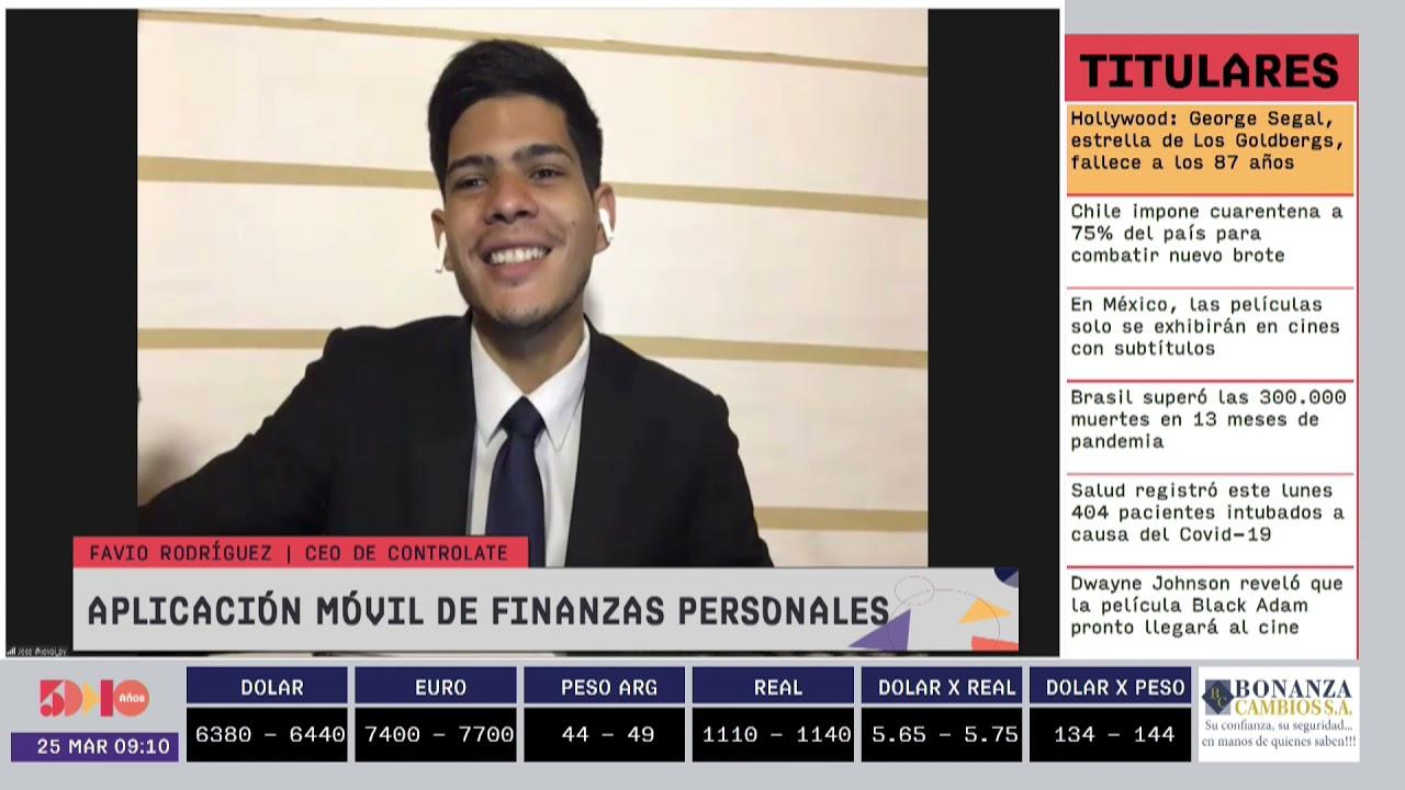 Favio Rodríguez - Aplicación móvil de Finanzas Personales