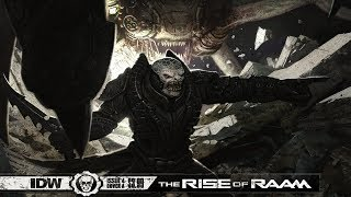 Gears of War Lore Episode 30 : Rise of Raam Issue #4!!! [4k] / EMERGENCE DAY!!!