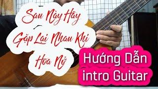 Sau Này Hãy Gặp Lại Nhau Khi Hoa Nở - Nguyên Hà - Cover Hướng Dẫn Guitar intro