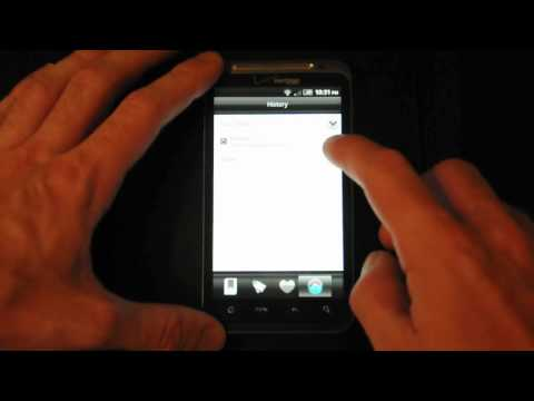 Long Press The Back Button To Access Android's Browser History