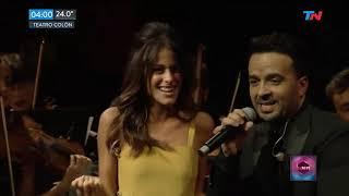 Luis Fonsi Y Tini - Échame La Culpa (Teatro Colón 2018)