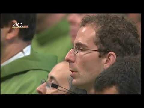 Messe avec les séminaristes et les novices