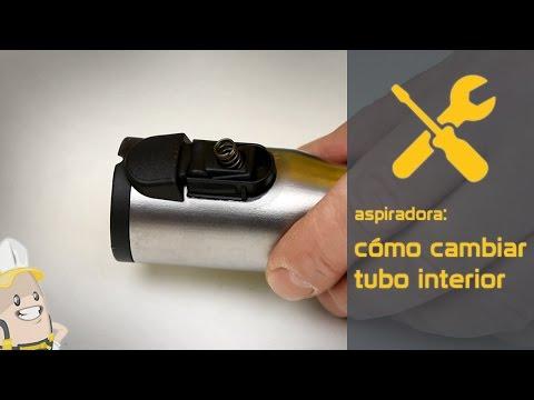 Cómo cambiar el tubo interior del tubo telescópico de su aspiradora | Método Esparecambio.es