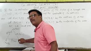 High School(10th)/Coordinate Geometry- 8/Bharat Sir