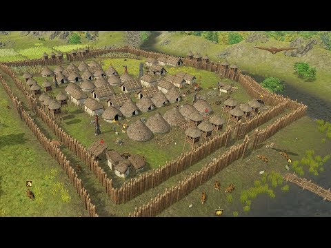 Dawn of Man | Ep. 7 | Ultimate Fortress Walls Completed | Dawn of Man City Building Tycoon Gameplay