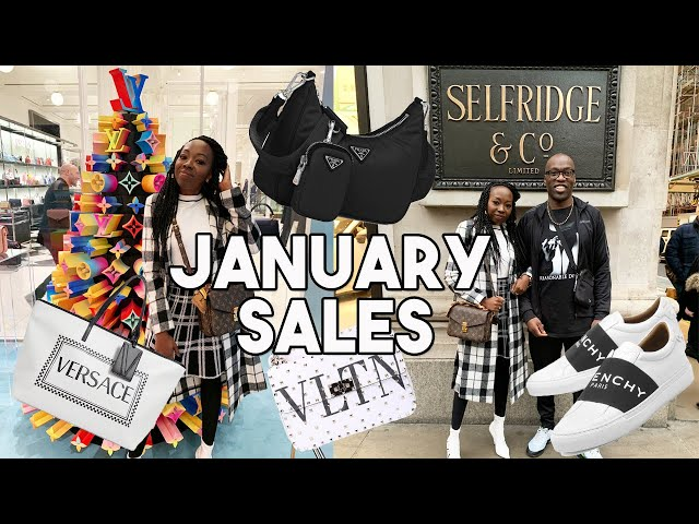 January Sale Shopping with Dad at Selfridges! | Louis Vuitton, Chanel, Prada, Valentino etc