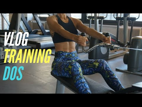 Un large muscle moyen lentraînement