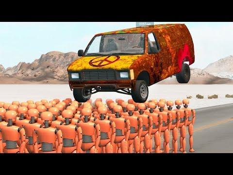 Crash Test Dummy #4 - BeamNG Drive | Crash Therapy