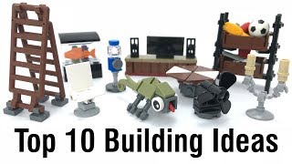 Top 10 Easy & Interesting Lego Building Ideas Anyone Can Make (6)