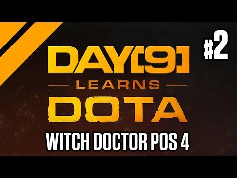 Day[9] Plays Dota w/ Purge - Witch Doctor Pos 4 P2
