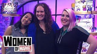 Mackenzie Cadenhead Talks Comic Books and Literacy   Women of Marvel podcast