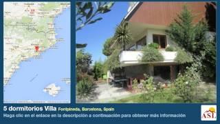 preview picture of video '5 dormitorios Villa se Vende en Fontpineda, Barcelona, Spain'