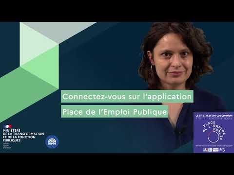 Video Trouver l'emploi qui vous convient en toute simplicité sur l'application de PEP, place de l'emploi public