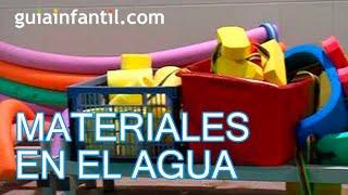 Materiales recomendados para los niños en el agua