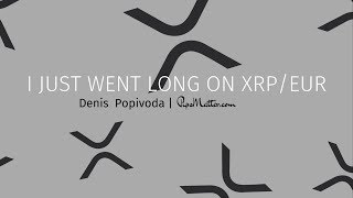 Went long on XRP on a bullish contraction at a key level! [XRPEUR]