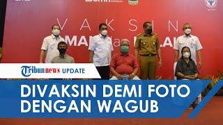 Kisah Lansia 72 Tahun di Padang, Bersedia Divaksin karena Ingin Ketemu dan Foto Bareng Wagub